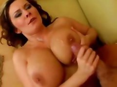 Extraordinary MILFs with titillating peggy's parlors get their boobies shagged