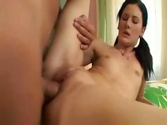Pigtails Treat Pummeled And Spermed