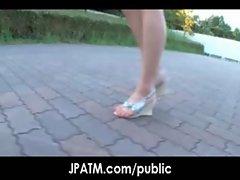 Public Sex in Japan - Asian Teens Exposed Outdoor 17