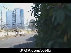 Public Sex in Japan - Asian Teens Exposed Outdoor 20