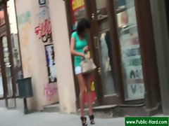 Public Pickups - Nude Czech Girls Get Paid For Public Sex Acts 06