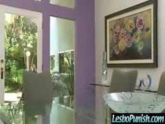 Teen Sexy Lesbians Get Punish With Toys clip-15