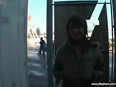 Asians Flashing Body And Getting Bang clip-26