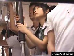 PublicSex in Japan - Asian Teens Exposed Outdoor 27