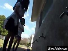 PublicSex in Japan - Asian Teens Exposed Outdoor 10