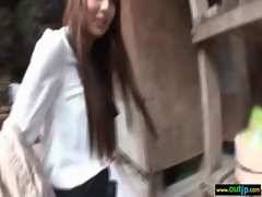Outdoor Sexy Japanese Get Hard Sex movie-34