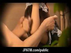 Public Sex in Japan - Asian Teens Exposed Outdoor 29