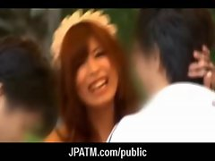 Public Sex in Japan - Asian Teens Exposed Outdoor 17