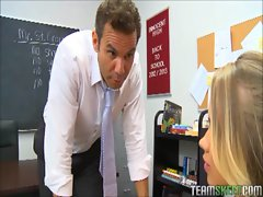 Britney tricked by her teacher