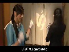 Public Sex in Japan - Asian Teens Exposed Outdoor 14