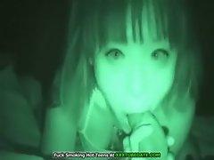 Asian Blowjob Night Vision Sex Tape