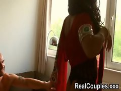 Desi Indian is pounded hard by husband