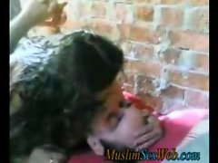 Arab outdoor  sex video