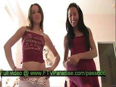 Two teen girls talking