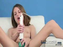 very special dildo in my tight vagina