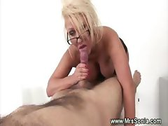 Cheating wife sucks forbidden cock and loves it