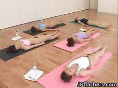 Free jav of Japanese chicks practicing part5