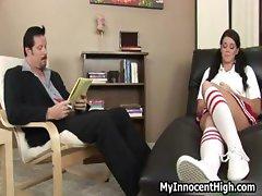 Naughty schoolgirl confesses part6