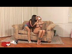 Lesbian bondage part 1