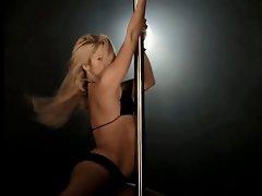 shakira- rabiosa pole dancing slow motion