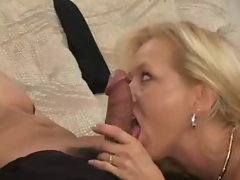 Mature Blonde Fuckin Old School 3