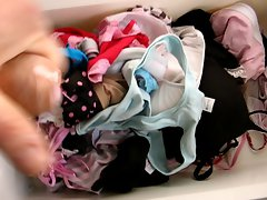 Teen panty drawer