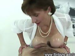 Watch Lady Sonia in pearls