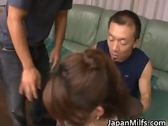 Horny cock sucking milf Yua part5