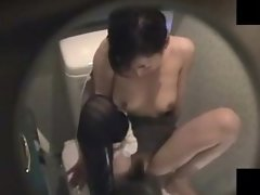 Real Girl Toilet Masturbation