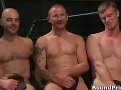 Brenn, Adam and Blake in horny extreme part3