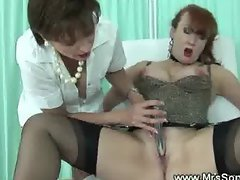 Dominatrix nurse gives special treatment