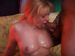 Cougar hungry for jizz