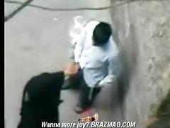 Pakinstani aunt caught fucked in public