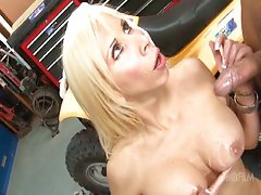 Morgan Ray - Mom fucked by StepSon & Friend