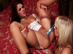 New toy story told by two smoking hot girls