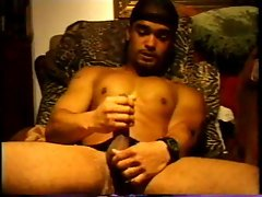 Relaxed jerking off