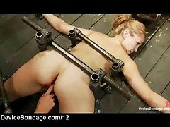 Pinned down babes caned and vibed