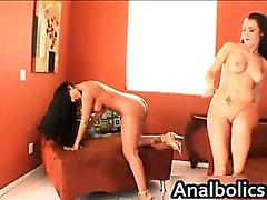 Lesbian sluts Nina Mercedez and Sophia