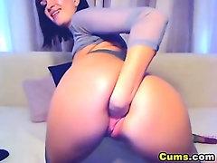 Multiple Dildo Masturbation HD
