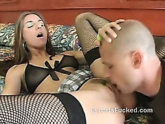 Street whore gets her pussy licked then gets ready to suck this dudes cock
