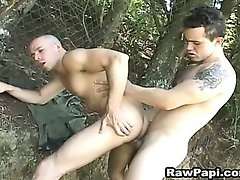 Papi Gay Bareback with Facial