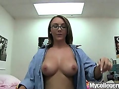 Mycollegerule Two Teens Blowing