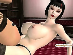 Captive 3d hentai doggystyle fucked by shemale anime