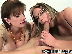 Pass the penis bj british sluts