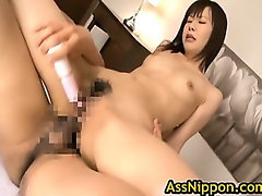 Asian Schoolgirl Enjoys Showing Off