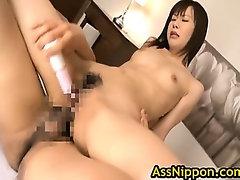 Asian Schoolgirl Enjoys Showing Off
