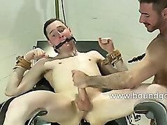 Lance gets a hard dual ass penetration2
