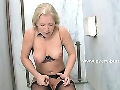 Slim babes with tight asses caught by huge cock spanking and get punished in amazing anal sex