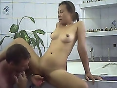 Hot Asian Milf Has Sex With Her White Husband