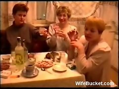 Funny Russian swing party
